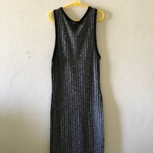 Stripped Bodycon Dress